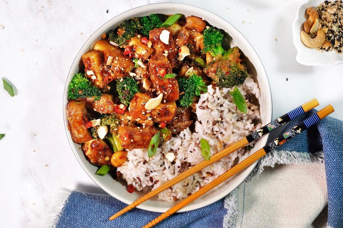 Spicy Crispy Tofu