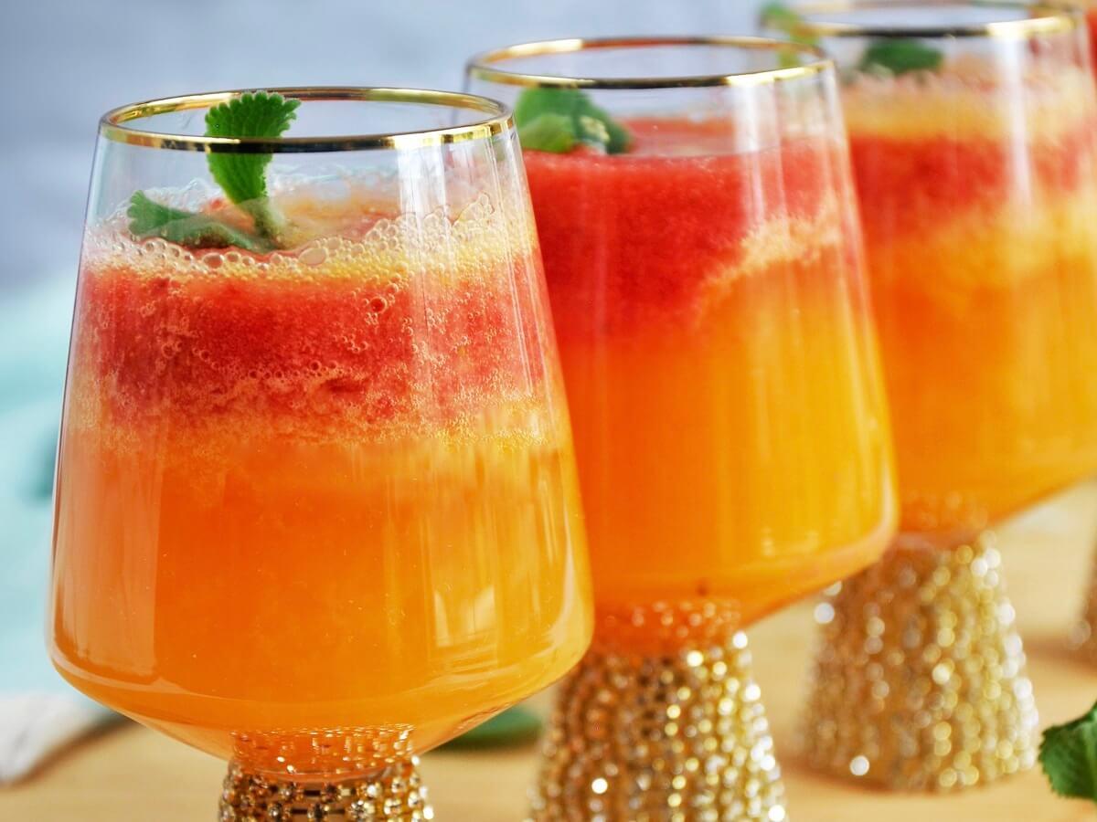 Strawberry Mimosa